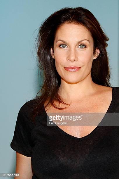 Actress Astrid Veillon photographed in Paris