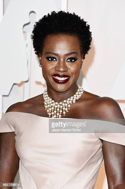 Actress attends the 87th Annual Academy Awards at Hollywood Highland Center on February 22 2015 in Hollywood California