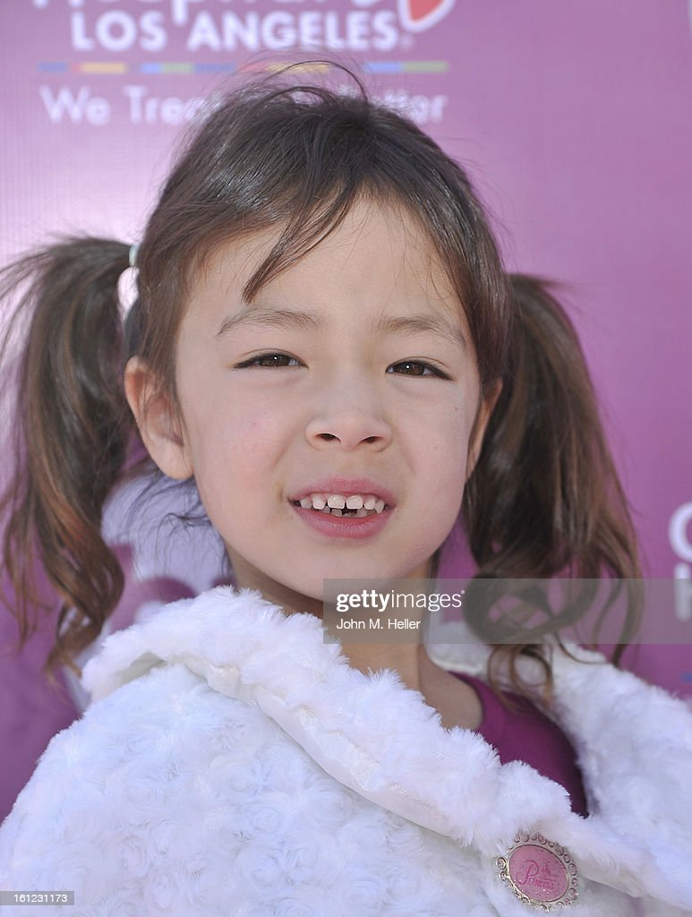 Actress Aubrey Anderson-Emmons arrives at the My Little Pony Coronation Concert at the Brentwood Theatre on February 9, 2013 in Los Angeles, California.