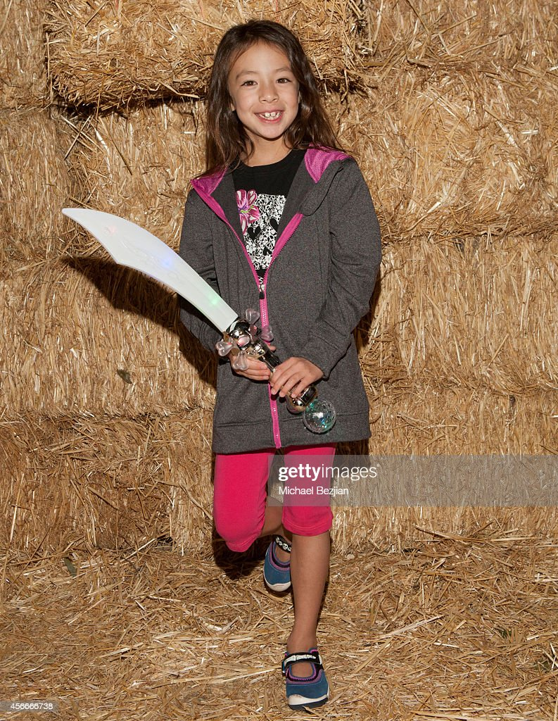 Actress Aubrey AndersonEmmons attends 'Rise Of The Jack O'Lanterns' Los Angeles Premiere at Descanso Gardens on October 4 2014 in La CanadaFlintridge...