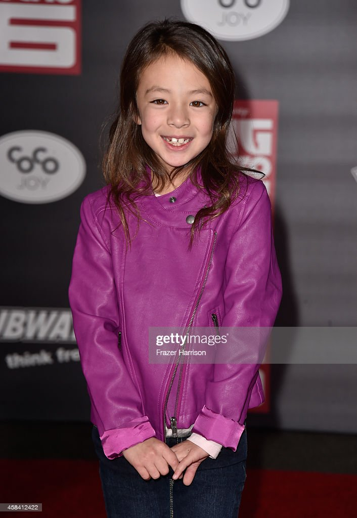 Actress Aubrey AndersonEmmons attends the premiere of Disney's 'Big Hero 6' at the El Capitan Theatre on November 4 2014 in Hollywood California
