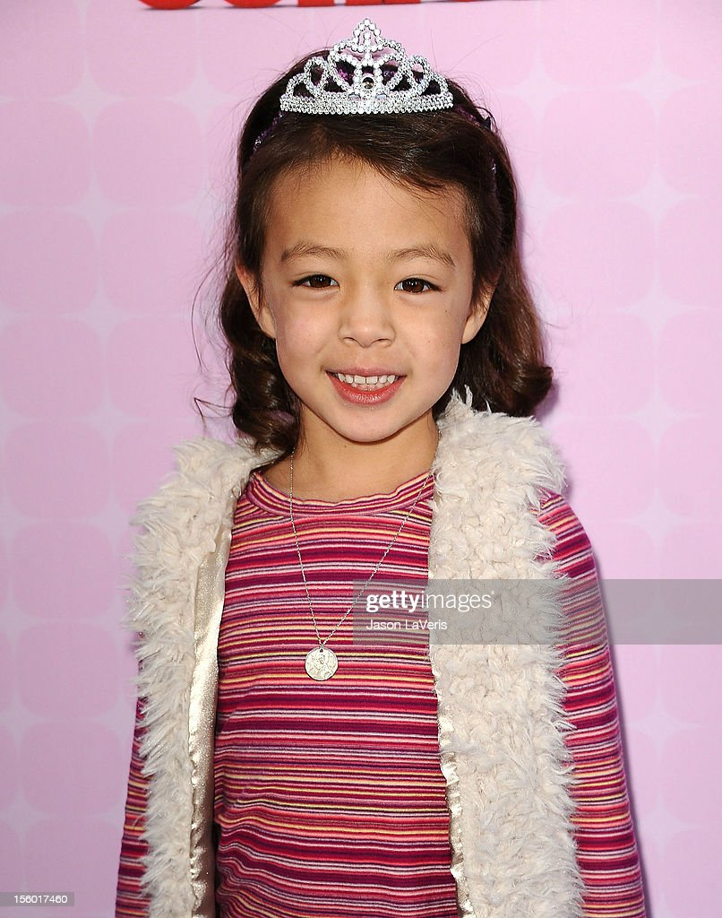 Actress Aubrey Anderson-Emmons attends the premiere of 'Sofia The First: Once Upon a Princess' at Walt Disney Studios on November 10, 2012 in Burbank, California.