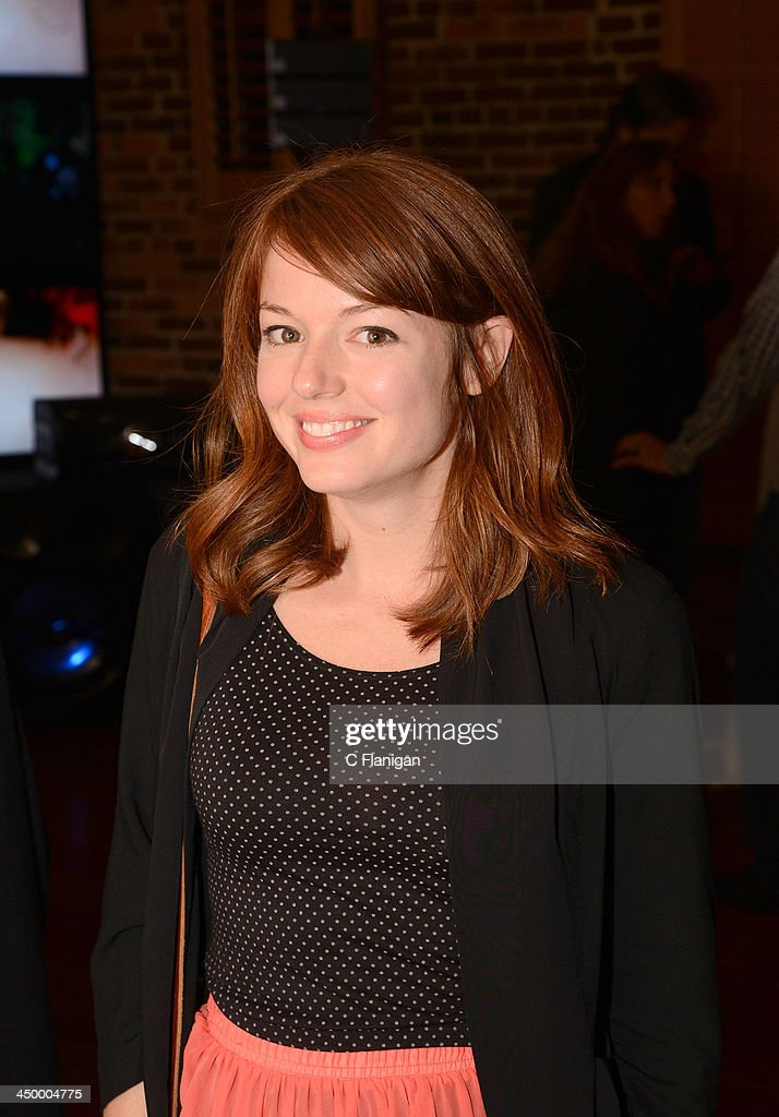 Actress Aubrey Dollar attends The Hollywood Reporter After Party at the Napa Valley Film Festival Celebrity Tribute on November 15, 2013 in Napa, California.
