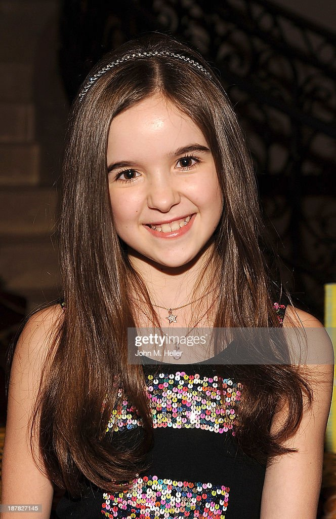 Actress Aubrey Miller attends the screening of 'A Country Christmas' at the Pacific Theatre at The Grove on November 12, 2013 in Los Angeles, California.