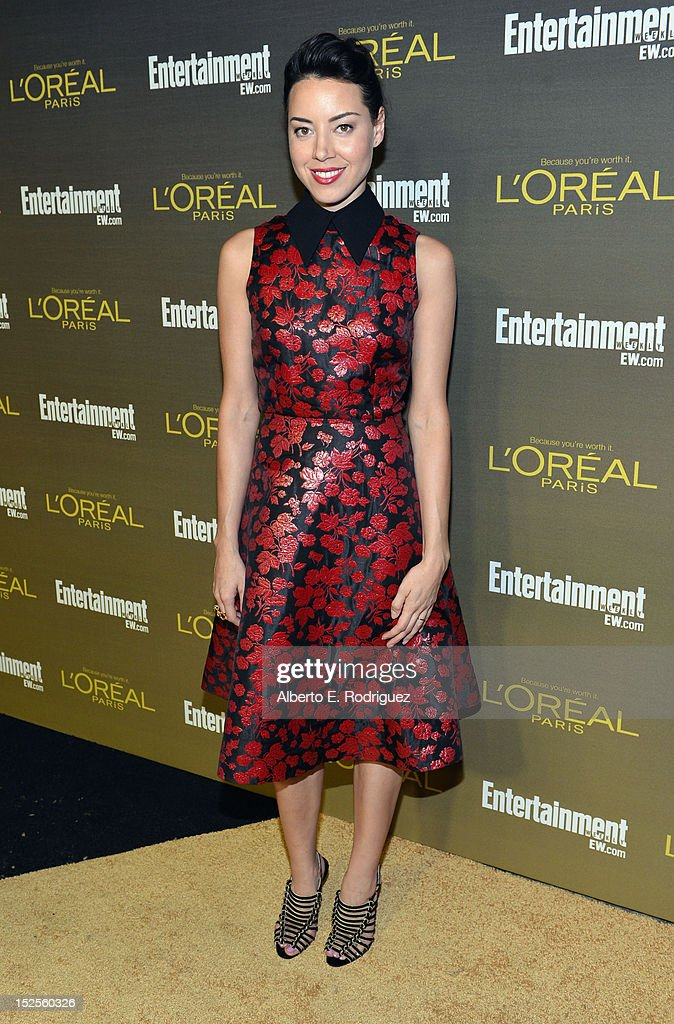 Actress Aubrey Plaza attends The 2012 Entertainment Weekly Pre-Emmy Party Presented By L'Oreal Paris at Fig & Olive Melrose Place on September 21, 2012 in West Hollywood, California.