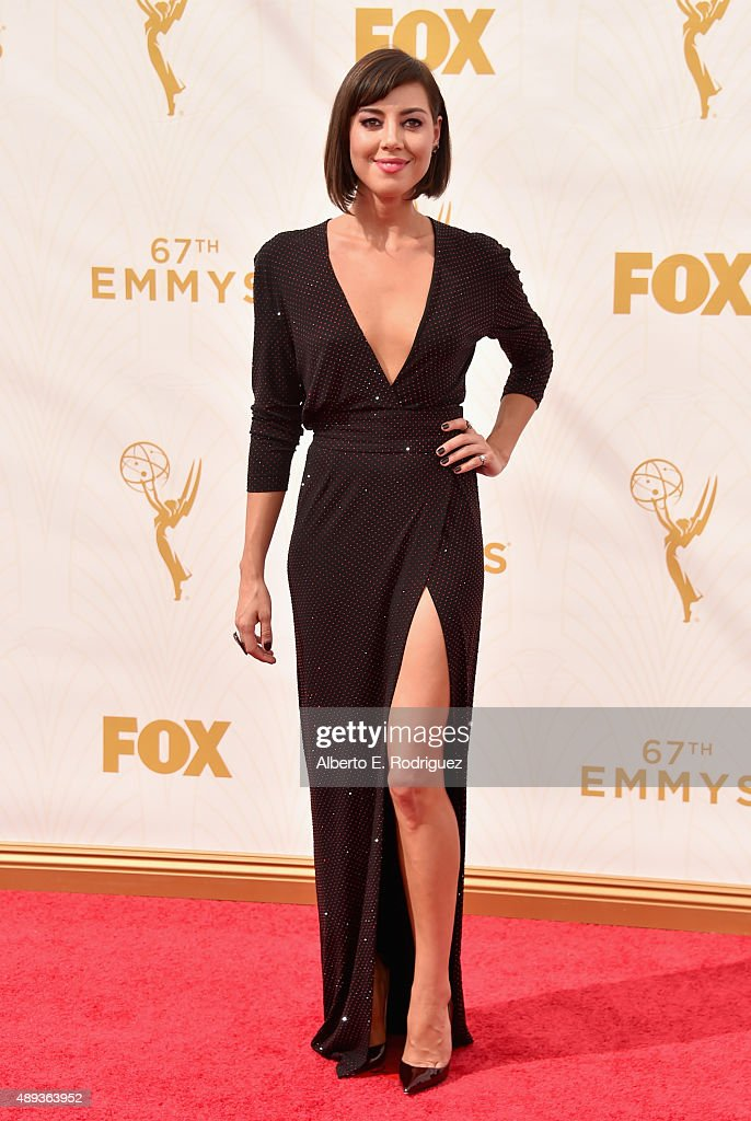 Actress Aubrey Plaza attends the 67th Emmy Awards at Microsoft Theater on September 20 2015 in Los Angeles California 25720_001