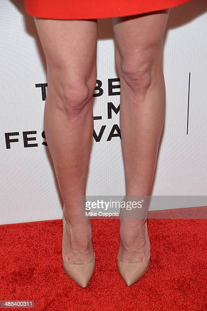 Actress Aubrey Plaza attends the 'About Alex' Premiere during the 2014 Tribeca Film Festival at BMCC Tribeca PAC on April 17 2014 in New York City