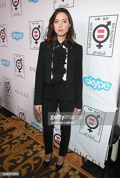 Actress Aubrey Plaza attends The Equality Now's 'Make Equality Reality' Event at Montage Beverly Hills on November 3 2014 in Beverly Hills California