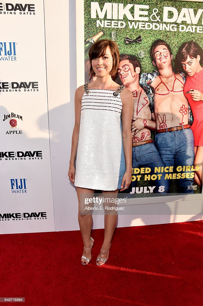 Actress Aubrey Plaza attends the premiere of 20th Century Fox's 'Mike and Dave Need Wedding Dates' at ArcLight Cinemas Cinerama Dome on June 29 2016...