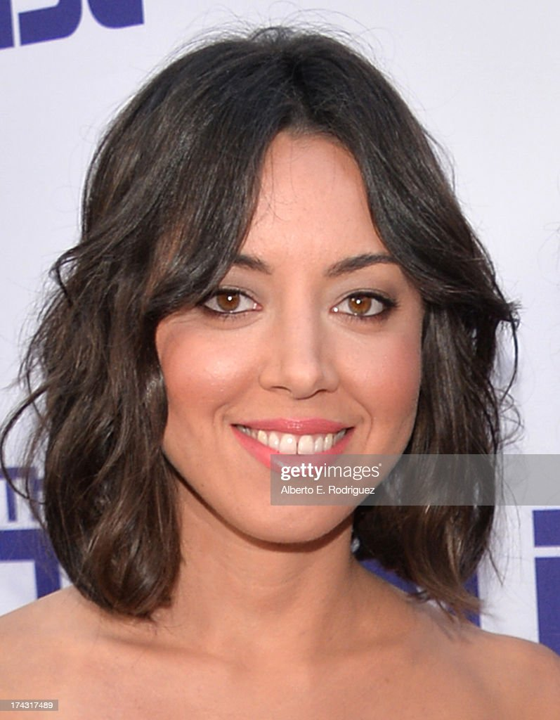 Actress <a gi-track='captionPersonalityLinkClicked' href=/galleries/search?phrase=Aubrey+Plaza&family=editorial&specificpeople=5299268 ng-click='$event.stopPropagation()'>Aubrey Plaza</a> attends the premiere of CBS Films' 'The To Do List' on July 23, 2013 in Westwood, California.
