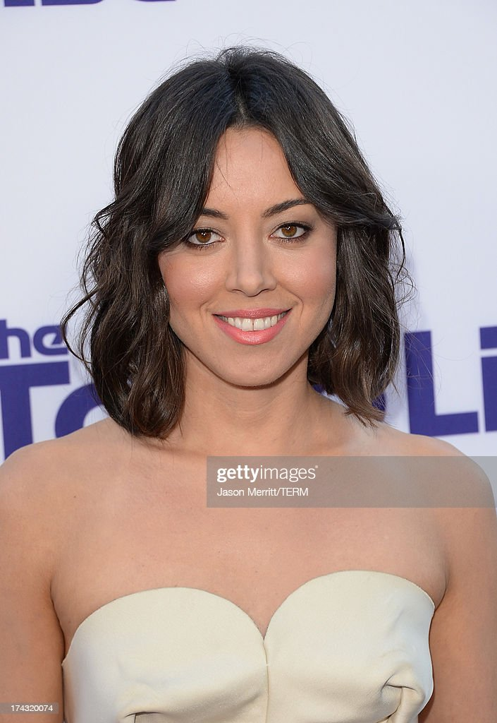 Actress Aubrey Plaza attends the premiere of CBS Films' 'The To Do List' on July 23, 2013 in Westwood, California.
