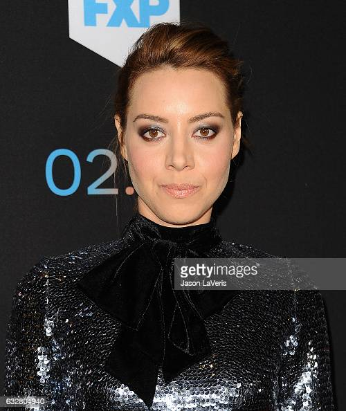 Actress Aubrey Plaza attends the premiere of 'Legion' at Pacific Design Center on January 26 2017 in West Hollywood California