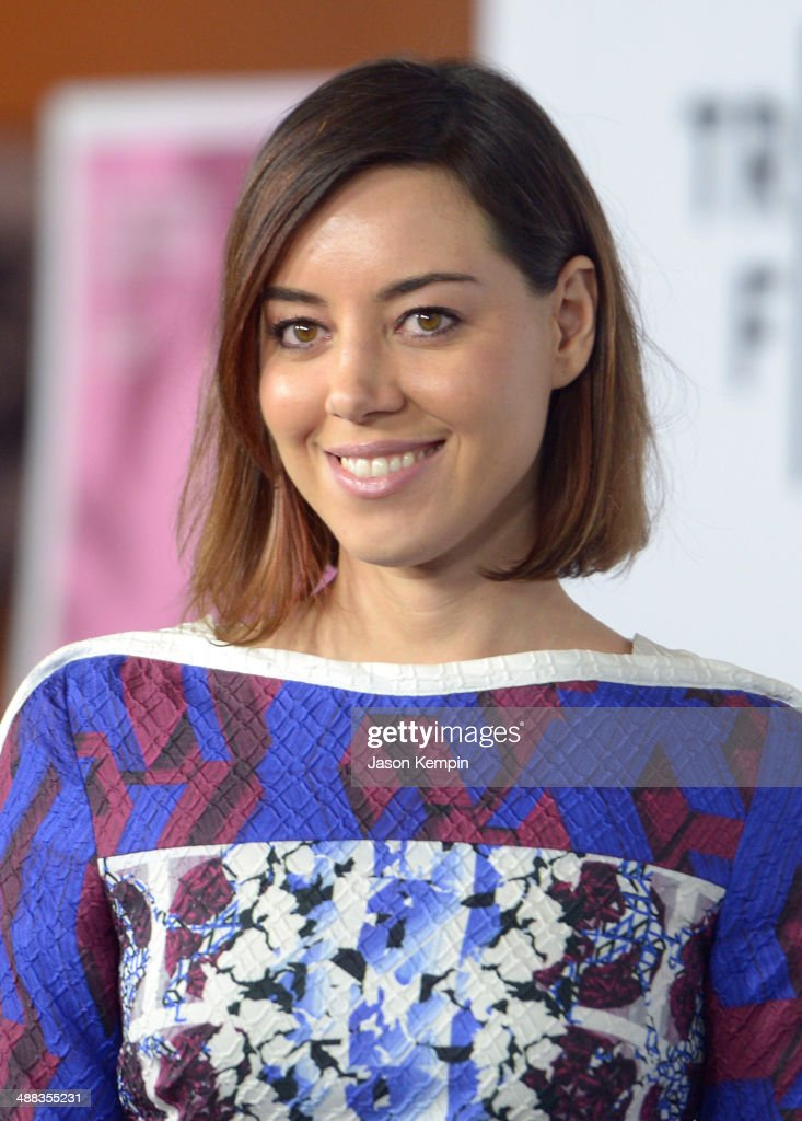 Actress Aubrey Plaza attends the premiere of Tribeca Film's 'Palo Alto' at Directors Guild Of America on May 5 2014 in Los Angeles California