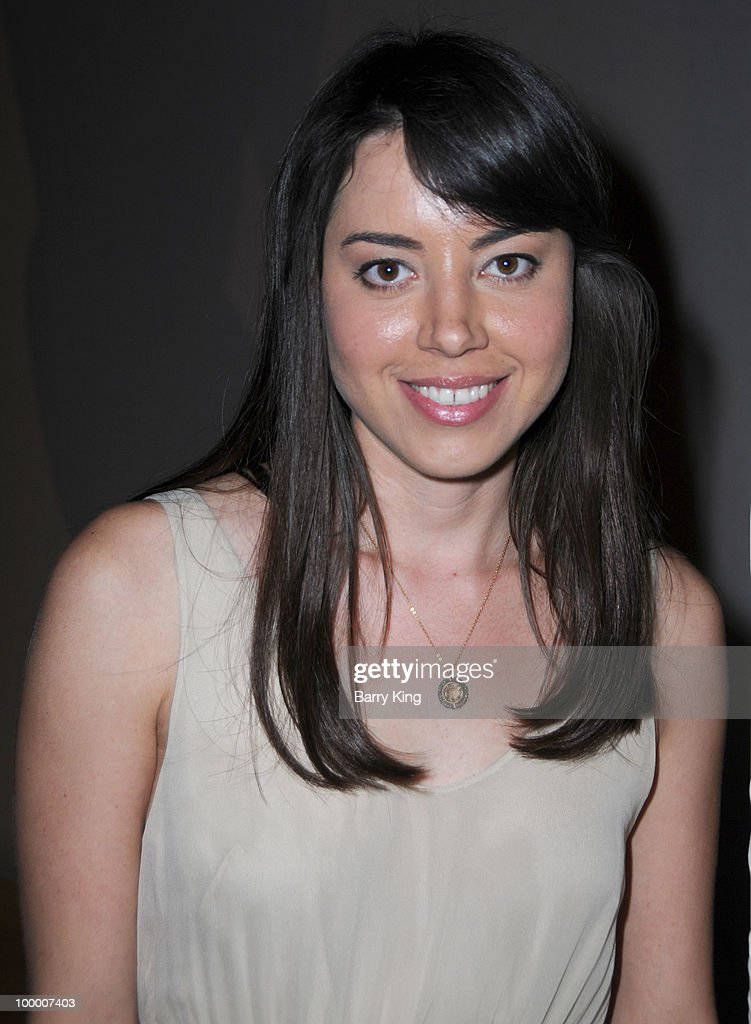 Actress Aubrey Plaza attends the reception for NBC's 'Parks and Recreation' Emmy Screening held at the Leonard H. Goldenson Theatre on May 19, 2010 in North Hollywood, California.