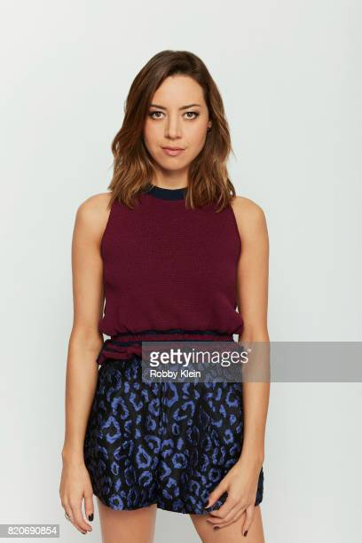 Actress Aubrey Plaza from FX's 'Legion' poses for a portrait during ComicCon 2017 at Hard Rock Hotel San Diego on July 20 2017 in San Diego California