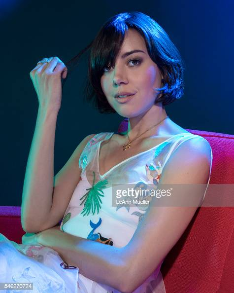 Actress Aubrey Plaza is photographed for The Wrap on June 27 2016 in Los Angeles California