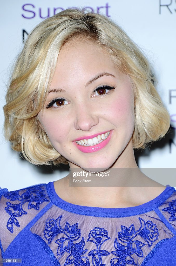 Actress Aubrey Whitby arrives at 14th Annual RSN's Renal Teen Prom at Notre Dame High School on January 20, 2013 in Sherman Oaks, California.