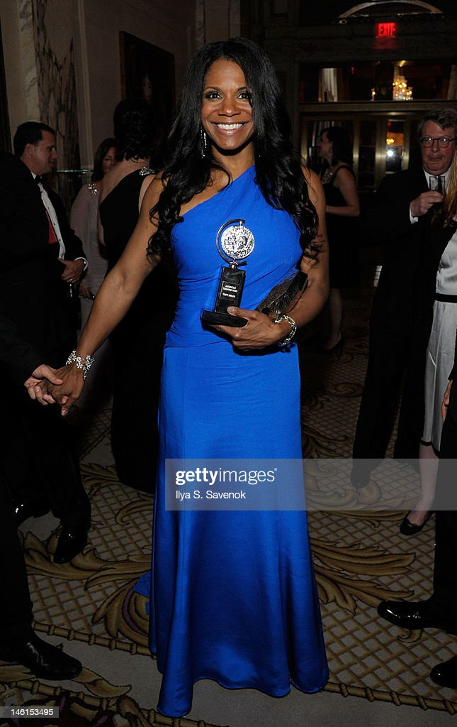 Actress Audra McDonald attends the 66th Annual Tony Awards at The Plaza Hotel on June 10, 2012 in New York City.