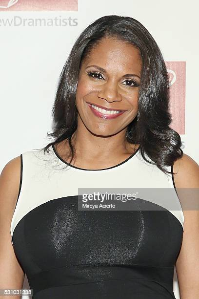 Actress Audra McDonald attends the 67th Annual New Dramatists Spring Luncheon at Marriott Marquis Times Square on May 12 2016 in New York City