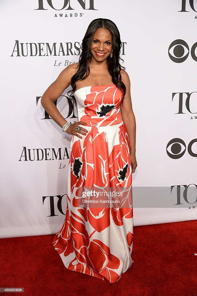 Actress <a gi-track='captionPersonalityLinkClicked' href=/galleries/search?phrase=Audra+McDonald&family=editorial&specificpeople=212782 ng-click='$event.stopPropagation()'>Audra McDonald</a> attends the 68th Annual Tony Awards at Radio City Music Hall on June 8, 2014 in New York City.