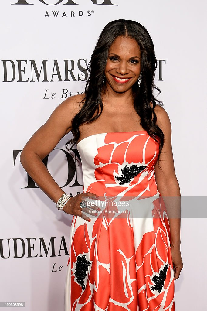 Actress Audra McDonald attends the 68th Annual Tony Awards at Radio City Music Hall on June 8, 2014 in New York City.