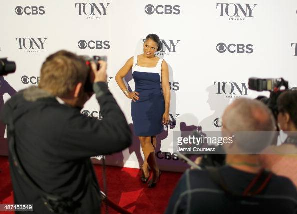 Actress Audra McDonald nominee for Best Performance by an Actress in a Leading Role in a Play for 'Lady Day at Emerson's Bar Grill' attends the 2014...