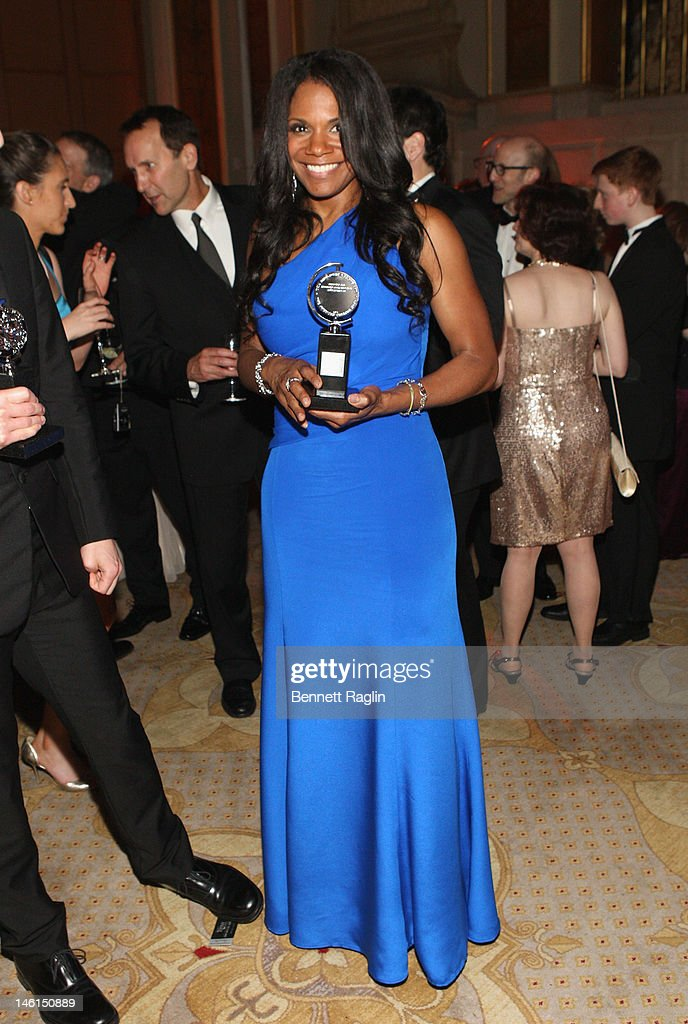Actress Audra McDonald, winner of Best Performance by a Leading Actress in a Musical for 'Porgy and Bes' attends 66th Annual Tony Awards after party at The Plaza Hotel on June 10, 2012 in New York City.