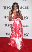Actress Audra McDonald winner of best performance by an actress in a leading role in a play attends American Theatre Wing's 68th Annual Tony Awards...