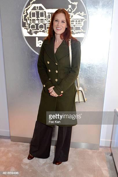 Actress Audrey Fleurot attends 'La Prairie' Shop Opening Party at La Prairie Saint Honore on January 20 2014 in Paris France