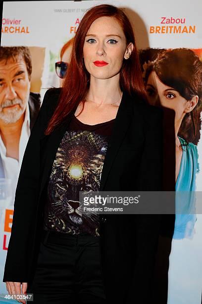 Actress Audrey Fleurot attends the 'Belle Comme La Femme D'un Autre' Paris Premiere At UGC Bercy on January 20 2014 in Paris France