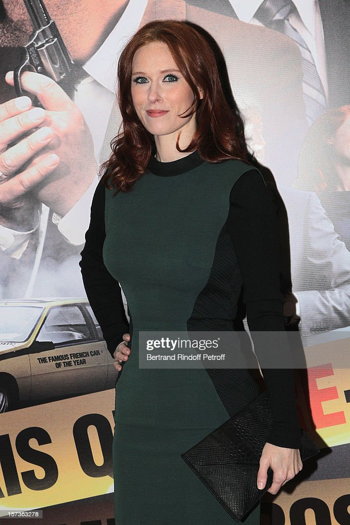 Actress <a gi-track='captionPersonalityLinkClicked' href=/galleries/search?phrase=Audrey+Fleurot&family=editorial&specificpeople=7832756 ng-click='$event.stopPropagation()'>Audrey Fleurot</a> attends the Paris Premiere of the movie 'Mais Qui A Re Tue Pamela Rose', at Cinema Gaumont Marignan on December 2, 2012 in Paris, France.
