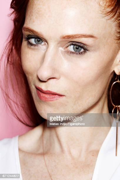 Actress Audrey Fleurot is photographed for Madame Figaro on March 1 2017 in Paris France PUBLISHED IMAGE CREDIT MUST READ Vincent...