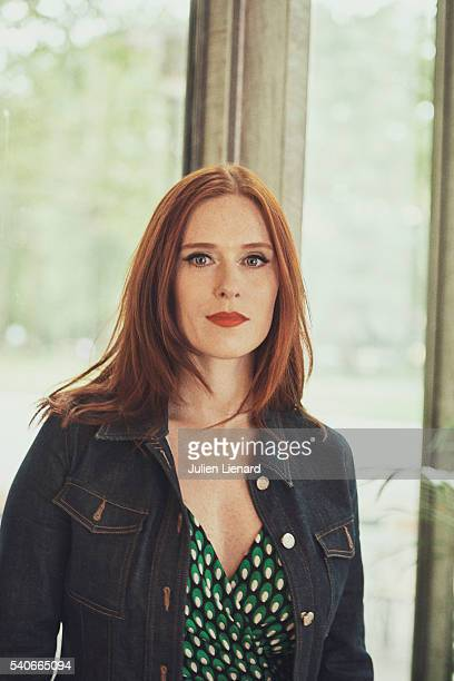 Actress Audrey Fleurot is photographed for Self Assignment on June 7 2016 in Paris France