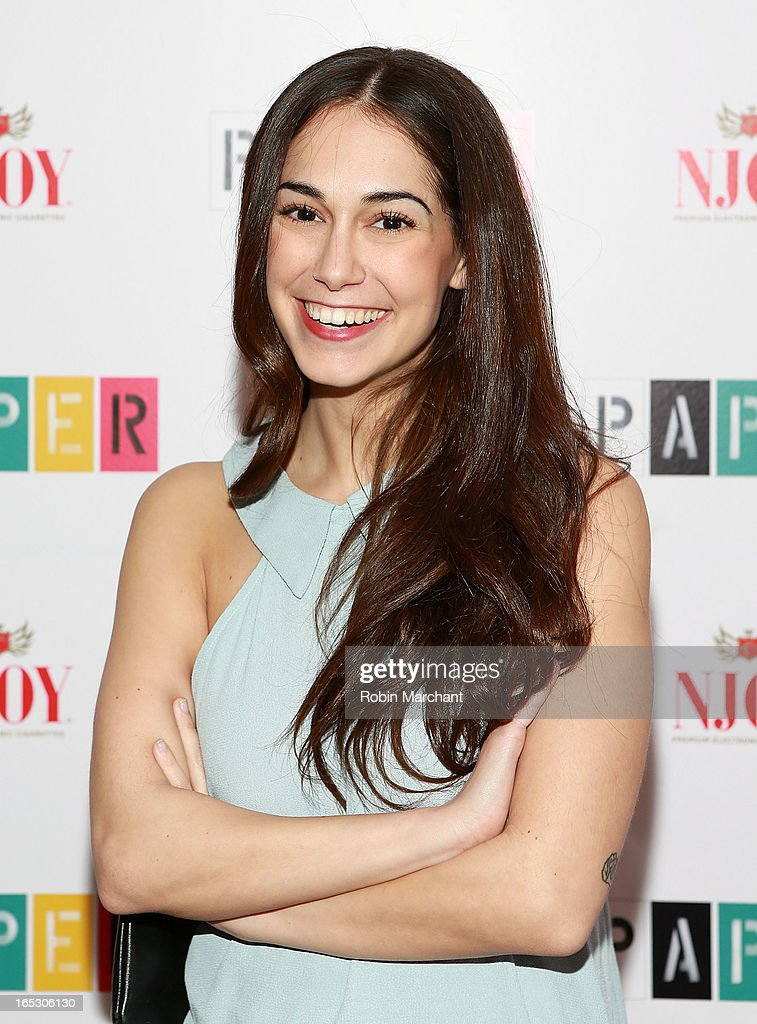 Actress Audrey Gelman attends Paper Magazine's 16th Annual Beautiful People Party at Top of The Standard Hotel on April 2, 2013 in New York City.