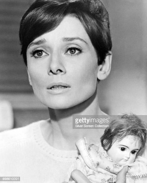 Actress Audrey Hepburn as Susy Hendrix in the thriller 'Wait Until Dark' 1967