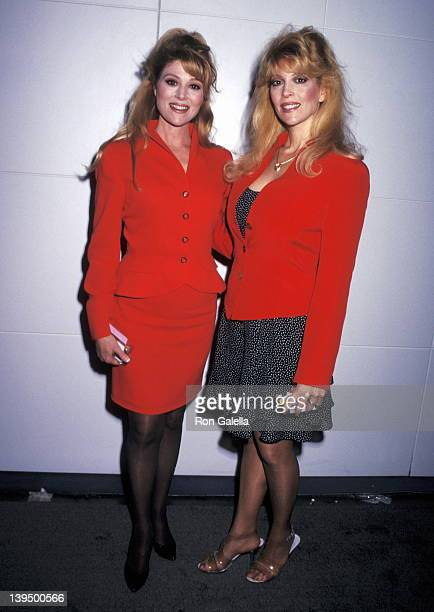 Actress Audrey Landers and actress Judy Landers attend the 33rd Annual National Association of Television Program Executives Convention and...