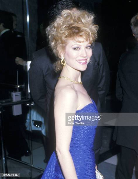 Actress Audrey Landers attends the 60th Annual Academy Awards After Party on April 11 1988 at The Mondrian Hotel in West Hollywood California