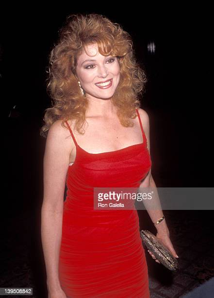 Actress Audrey Landers attends the NAACP Los Angeles Chapter's Ninth Annual Roy Wilkins Award Dinner to Honor Eddie Murphy on July 19 1991 at Century...