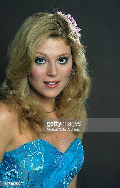 Actress Audrey Landers poses for a portrait in circa 1980