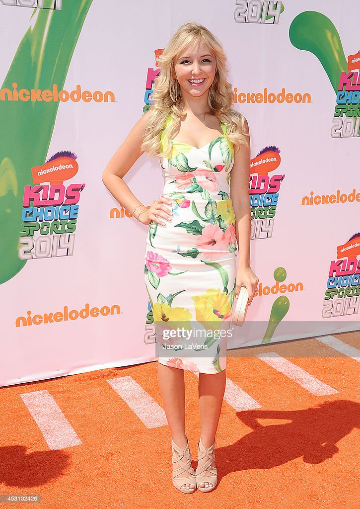 Actress <a gi-track='captionPersonalityLinkClicked' href=/galleries/search?phrase=Audrey+Whitby&family=editorial&specificpeople=7784359 ng-click='$event.stopPropagation()'>Audrey Whitby</a> attends the 2014 Nickelodeon Kids' Choice Sports Awards at Pauley Pavilion on July 17, 2014 in Los Angeles, California.