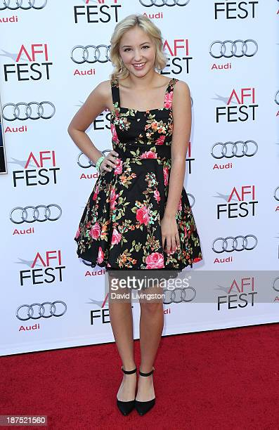 Actress Audrey Whitby attends the AFI FEST 2013 presented by Audi 50th Anniversary Commemoration Screening of Disney's 'Mary Poppins' at the TCL...