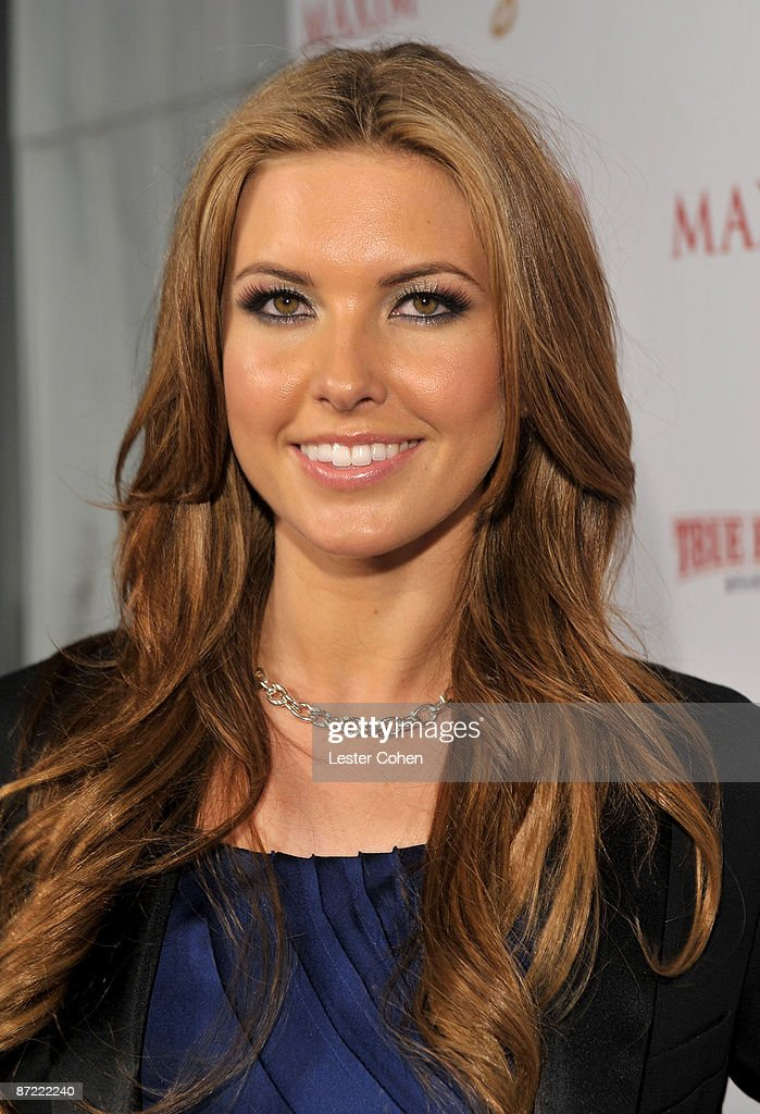 Actress Audrina Patridge arrives at Maxim's 10th Annual Hot 100 Celebration Presented by Dr Pepper Cherry, True Religion Brand Jeans, Stolichnaya Vodka and Corona held at Barker Hangar on May 13, 2009 in Santa Monica, California.