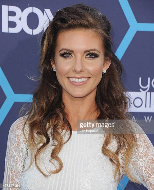 Actress Audrina Patridge arrives at the 16th Annual Young Hollywood Awards at The Wiltern on July 27 2014 in Los Angeles California