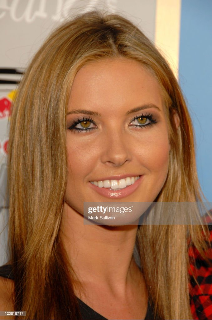Actress <a gi-track='captionPersonalityLinkClicked' href=/galleries/search?phrase=Audrina+Patridge&family=editorial&specificpeople=2584350 ng-click='$event.stopPropagation()'>Audrina Patridge</a> arrives at the X-Games 'Red Bull Toasted' Action Sports party honoring icon <a gi-track='captionPersonalityLinkClicked' href=/galleries/search?phrase=Travis+Pastrana&family=editorial&specificpeople=710019 ng-click='$event.stopPropagation()'>Travis Pastrana</a> at Avalon on July 28, 2009 in Hollywood, California.