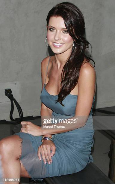 Actress Audrina Patridge attends 6119 launch of their Inaugural Collection at New York Fashion Week at the Glass Houses in Manhattan on September 4...