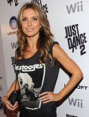 Actress Audrina Patridge attends the celebration of the launch of Ubisoft's 'Just Dance 2' at Las Palmas on October 19 2010 in Hollywood California