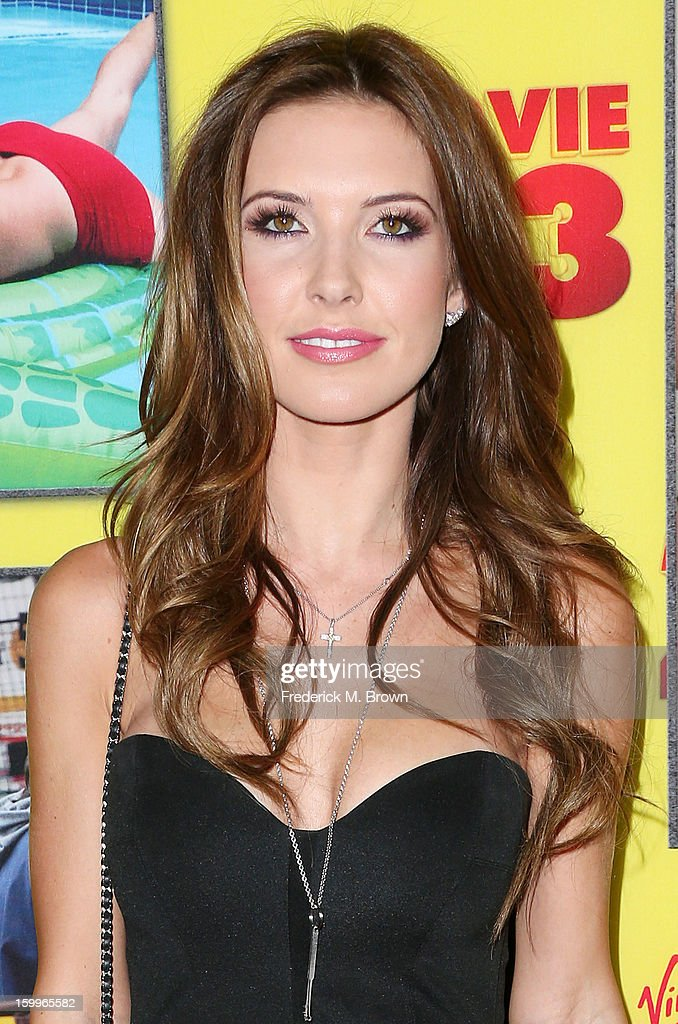 Actress <a gi-track='captionPersonalityLinkClicked' href=/galleries/search?phrase=Audrina+Patridge&family=editorial&specificpeople=2584350 ng-click='$event.stopPropagation()'>Audrina Patridge</a> attends the Premiere Of Relativity Media's 'Movie 43' at the TCL Chinese Theatre on January 23, 2013 in Hollywood, California.