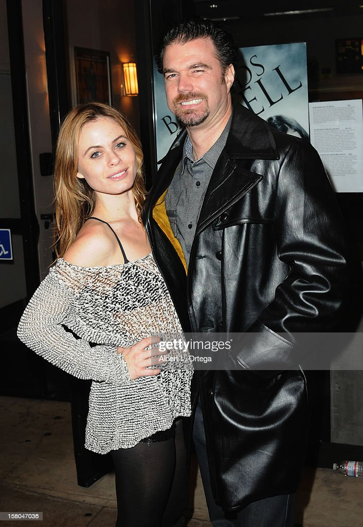 Actress Augie Duke and actor Dave Cobert arrive for the Screening Of 'Bad Kids Go To Hell' held at Laemmle Music Hall Theater on December 7, 2012 in Beverly Hills, California.