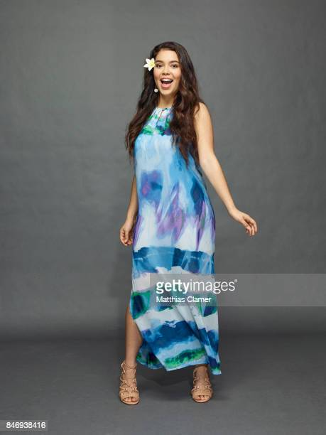 Actress Aulii Cravalho from 'Moana' is photographed for Entertainment Weekly Magazine on July 21 2016 at Comic Con in the Hard Rock Hotel in San...