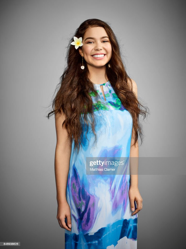Actress Aulii Cravalho from 'Moana' is photographed for Entertainment Weekly Magazine on July 21, 2016 at Comic Con in the Hard Rock Hotel in San Diego, California.